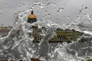 МЧС предупредило о грозе, молниях и сильном ветре в Петербурге