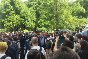 Суд в Петербурге оштрафовал четырех активистов, задержанных после оглашения приговора фигурантам дела «Сети»