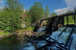 Прогуляйтесь до старой финской ГЭС в заказнике на Карельском перешейке и устройте пикник на берегу плотины
