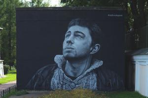 В «Ленэнерго» планируют закрасить граффити с Портновой и Бодровым на трансформаторных будках, чтобы избежать штрафа