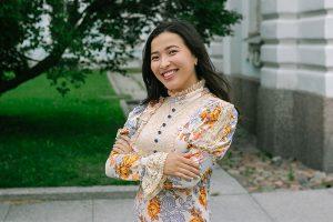 Монголка Аминаа Машбат — об учебе в академии художеств, любви к дождю и окнах петербургских домов