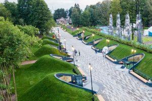 В Кронштадте открылся парк «Остров фортов». С аллеей героев российского флота и яблоневым садом