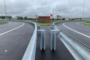 Власти Ленобласти частично открыли новую развязку в Мурине
