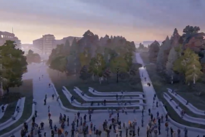 Петербургская «Студия 44» победила в конкурсе концепций парка «Тучков буян»