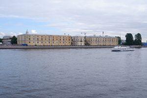 История Тучкова буяна — острова, склада и дворца. Какое отношение он имеет к парку у Биржевого моста?