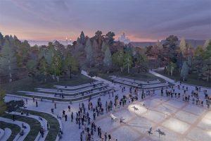 Что о проекте «Тучкова буяна» думают горожане и эксперты? «Бумага» собрала мнения о парке с оранжереей и плавучей сценой