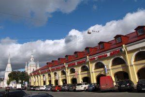 В Андреевском дворе на Васильевском острове откроют ресторанный квартал, а внутренний двор благоустроят