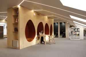 В общественном пространстве «Линии» на Васильевском острове открывается филиал библиотеки Маяковского
