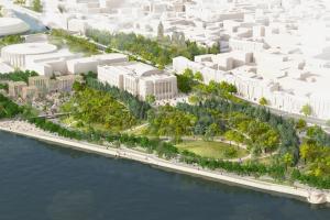 Реализацию проекта «Тучков буян» могут отложить на год. Участок должны передать в городскую собственность
