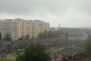 В Минске произошли столкновения милиции и протестующих. На акциях задержали несколько десятков человек, в том числе журналистов
