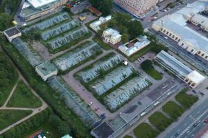 Оранжереи Таврического сада реконструируют до июля 2025 года. Там хотят создать выставочное пространство
