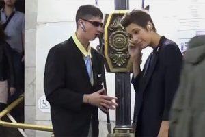 Ирина Горбачева вместе со своим бизнес-тренером дает советы пассажирам петербургского метро — это скетчи комика, который устраивает пранки в образах бандита, хакера и стилиста