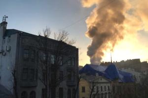 На Васильевском острове горел дом купца Форостовского