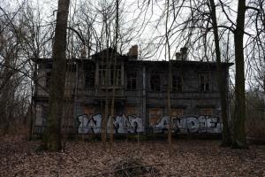 Прокуратура Петербурга потребовала восстановить дачу Амброжевича. У здания обрушилась крыша и обгорел фасад