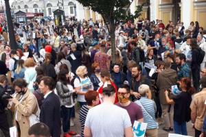 Закс во втором чтении принял поправку, позволяющую отказывать организаторам митингов, если власти решат, что мероприятие помешает пешеходам