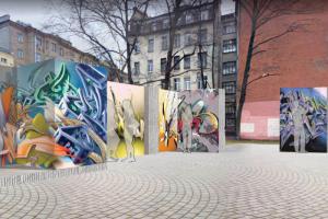 Смольный одобрил размещение конструкций, на которых можно будет рисовать стрит-арт без согласования с властями