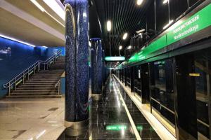 В петербургском метро сократили 10 поездов. В межпиковое время интервал движения увеличится