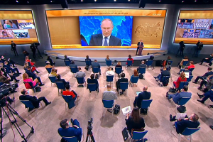 Подарок россиянам на Новый год, отравление Навального и выборы-2024. Главное из пресс-конференции Путина