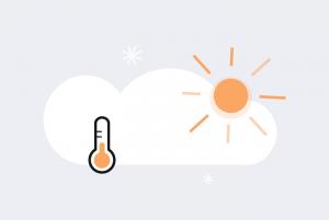 Этот год стал самым теплым в Петербурге за всю историю наблюдений. Смотрите инфографику «Бумаги» о погоде в 2020-м
