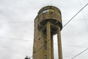 На Васильевском острове реконструируют канатный цех с водонапорной башней. Там разместят бизнес-центр