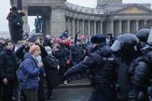 На митинге 23 января в Петербурге людей жестко задерживали и били. Вот истории четырех пострадавших в Петербурге