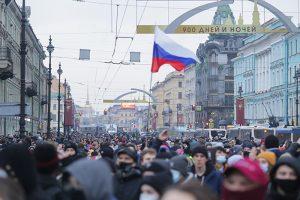 Главное о пяти уголовных делах после митинга 23 января в Петербурге — из-за прорыва оцепления, вовлечения в акцию несовершеннолетних и порчи автомобиля ДПС