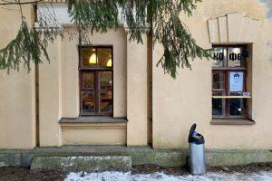 Кафе в старинном флигеле посреди Шуваловского парка. Здесь готовят рыбные блюда и есть дворик с качелями
