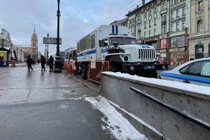 Как в Петербурге прошла несогласованная акция в поддержку Навального. Онлайн