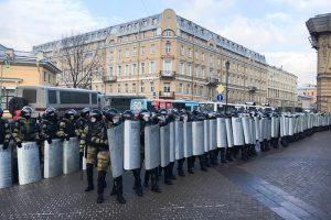 В Петербурге вторые выходные подряд проходит массовая акция в поддержку Навального и против действующей власти. Онлайн