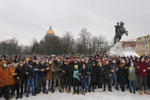 Главное о протестной акции в Петербурге: число задержанных, пострадавшие и маршрут самого крупного митинга последних лет