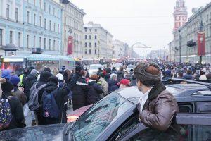 В Петербурге возбудили уголовное дело о блокировании дорог после акции 23 января. Что это за новая статья и кого по ней могут наказать? Отвечает юристка