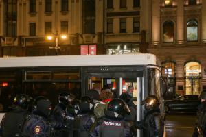 Суд в Петербурге прекратил дело пенсионера с инвалидностью по зрению и слуху, задержанного во время акции 31 января