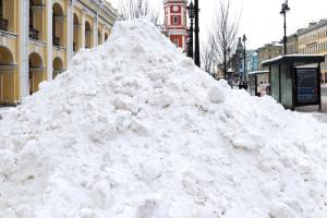 За последние дни в Петербурге выпало 87 % от месячной нормы осадков. Сегодня ожидают мокрый снег или ледяной дождь