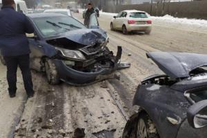 В Петербурге — 9-балльные пробки. По всему городу водители сообщают о многочисленных ДТП