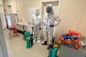 Временный госпиталь в «Ленэкспо» прекратил прием пациентов с коронавирусом. В Петербурге осталось 7 тысяч коек