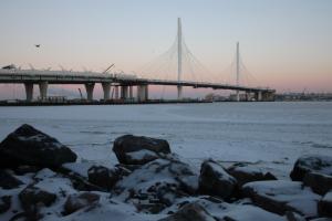 На Васильевском острове планируют построить еще один съезд с ЗСД