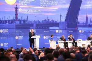 Петербургский экономический форум пройдет в июне. В прошлом году его отменили из-за коронавируса