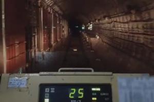 Когда-нибудь хотели увидеть тоннель метро из кабины машиниста? Вот ваш шанс —посмотрите видео из вагона петербургской подземки 🚇