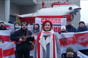 В Петербурге белорусские активисты получили от 2 до 7 суток ареста. Им вменили несогласованное пикетирование — они снимали видео