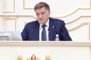 Беглов заявил, что председатель Закса Вячеслав Макаров мог бы представлять Петербург в Госдуме