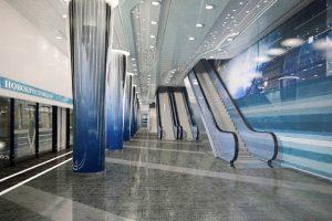 Станцию метро «Зенит» намерены открыть к Евро-2020. Ее ремонтируют с прошлого апреля