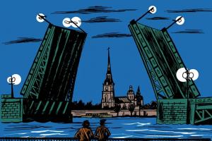 Восемь комиксов, где действие происходит в Петербурге. Фэнтези про ремонт, история про пробку на Шафировском и детектив из 90-х