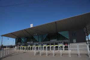 Станцию метро «Зенит» планируют открыть до конца мая. Ее ремонтируют больше года