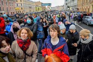«Раздробленности всё больше». Кто и почему пришел на митинг 21 апреля в Петербурге? Рассказывает исследовательница