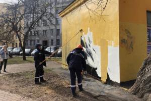В Петербурге из-за стрит-арта с Навальным возбудили уголовное дело о вандализме