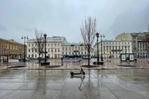 В некоторых районах Петербурга может пойти мокрый снег. Всё из-за южного циклона ☔