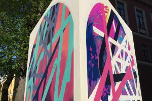 Музей стрит-арта вместе с заводом слоистых пластиков займутся созданием паблик-арт-объектов — для городских пространств и коммерческих площадок