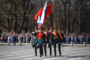 Как в Петербурге прошел парад Победы. Три фотографии