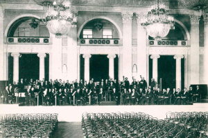 Петербургская филармония запустила сайт, посвященный своему 100-летнему юбилею. С интервью, архивными фото и старыми афишами