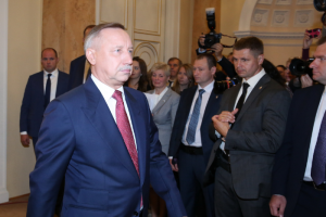 Путин наградил Александра Беглова орденом за «большой вклад в социально-экономическое развитие Петербурга»